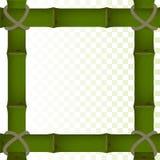 竹子框架 免版税库存图片
