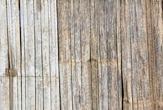 竹子的样式用管道输送木栅 免版税图库摄影