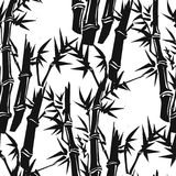 竹子的样式 向量例证