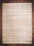 竹子的纹理 免版税库存照片