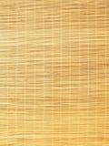 竹子窗帘 免版税图库摄影