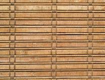 竹子窗帘 免版税库存照片