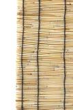 竹子窗帘 图库摄影
