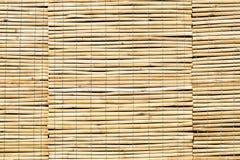 竹子窗帘 库存照片