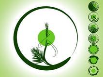 竹子绿色 皇族释放例证