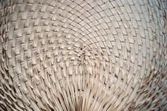竹子编织的样式 免版税图库摄影