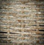 竹子被编织的纹理 免版税库存图片
