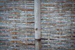 竹子被编织的纹理 库存照片