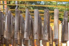 竹子装饰 免版税图库摄影
