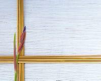 竹子黏附抽象背景 免版税库存照片