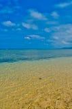 竹富岛海岛海滩 免版税库存图片