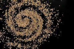 竹富岛海滩罕见的有孔虫类星沙子星系  库存照片