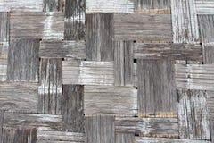 竹工艺品背景 免版税图库摄影