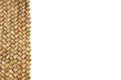 竹工艺品 免版税库存照片