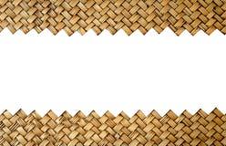 竹工艺品 免版税图库摄影