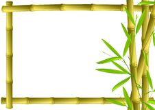 竹框架 免版税图库摄影