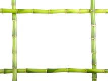 竹框架 免版税库存图片