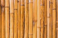 竹棕色秸杆席子作为摘要 库存图片