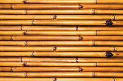 竹棕色透视图纹理 免版税库存图片