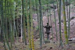 竹森林在日本 免版税库存图片