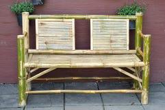 竹椅子 免版税库存图片