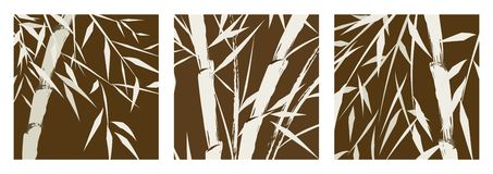 竹汉语设计结构树 库存图片
