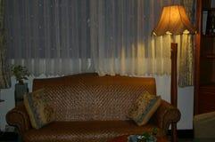 竹沙发 免版税库存图片