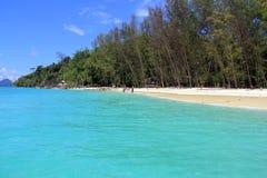 竹海岛, Krabi 库存照片