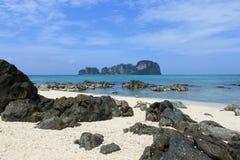 竹海岛 免版税图库摄影
