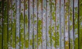 竹篱芭在日本庭院里 免版税库存图片