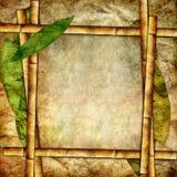 竹纸张 向量例证