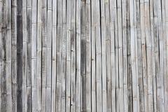 竹纹理墙壁 库存图片