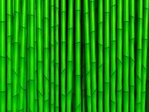 竹绿色纹理 免版税库存图片