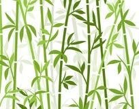 竹背景日本亚洲植物墙纸草 竹树传染媒介样式 向量例证