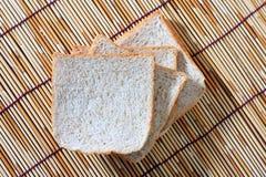 竹面包牌照 免版税库存图片