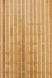 竹餐巾 库存照片