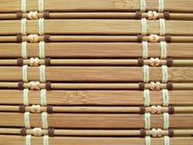 竹水平的背景 免版税库存图片