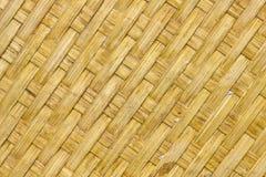 竹织法。 免版税图库摄影