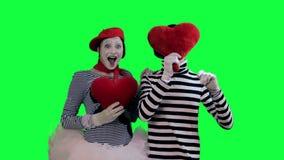 笑剧夫妇在爱的 股票录像