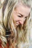 笑的妇女 图库摄影