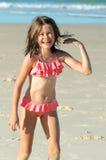 笑的小女孩 免版税图库摄影