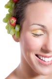 笑的sugarlips 免版税图库摄影