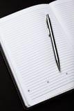 笔和笔记本 免版税图库摄影