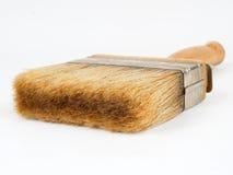 画笔查出的油漆白色 免版税库存照片