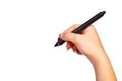 笔胳膊 免版税图库摄影