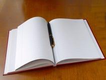 笔计划程序 免版税库存照片