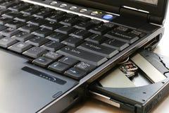 笔记本个人计算机 免版税库存图片