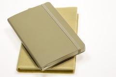 笔记本二 免版税库存图片
