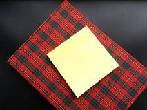 笔记本和贴纸笔记 库存图片
