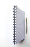 笔记本垂直在乐趣 图库摄影